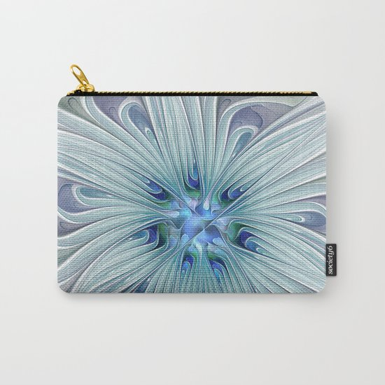 Another Floral Beauty Carry-All Pouch