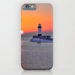 Duluth Harbor North Breakwater Lighthouse iPhone Case