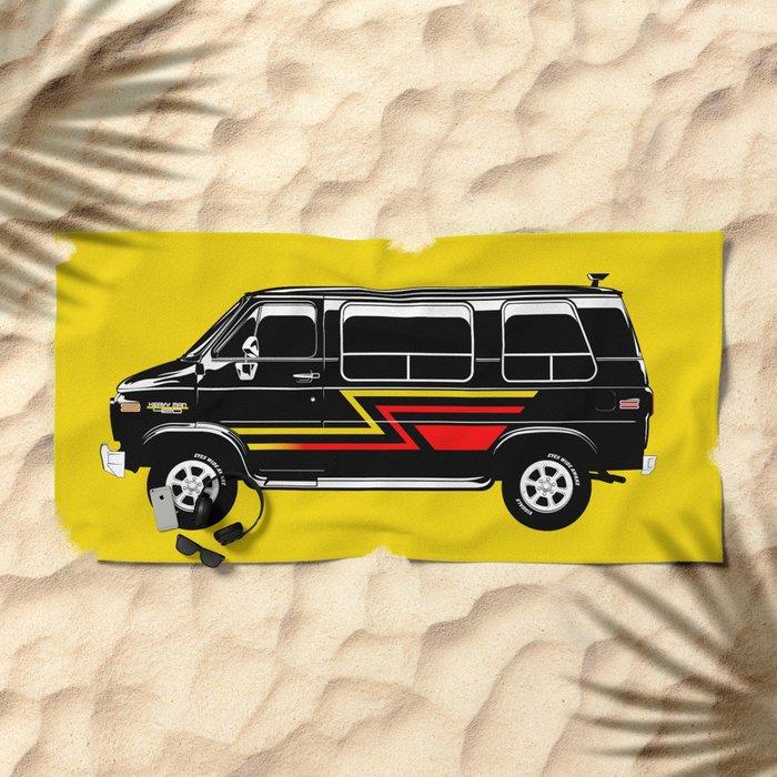 Classic Van Beach Towel