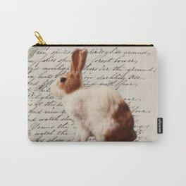 magical fairy woodland nursery easter bunny wild hare rabbit Carry-All Pouch