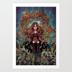 Augury Art Print