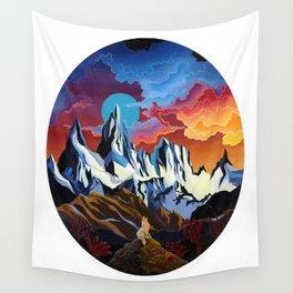 Moon Dog Wall Tapestry