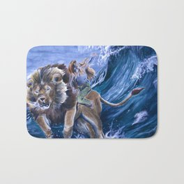The Confrontation with Fear Bath Mat