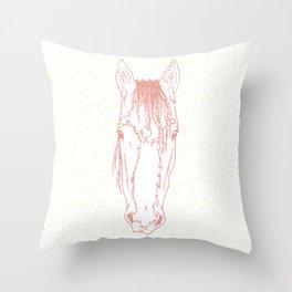Sharpe  |  Pink Throw Pillow