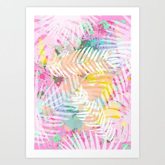 Tropical Juice 2 Art Print