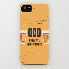 Funny Chai Disorder iPhone Case