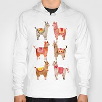 Hoodies featuring Alpacas by Cat Coquillette