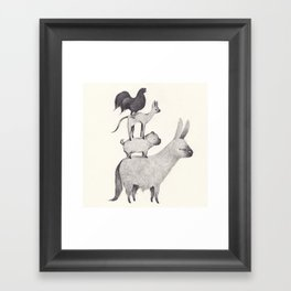 Bremen Framed Art Print