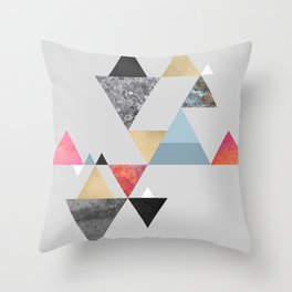 Berg 01 Throw Pillow