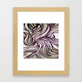 More Swirlls Framed Art Print