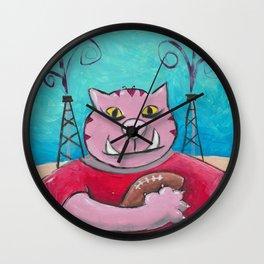 Arkansas Cat Wall Clock