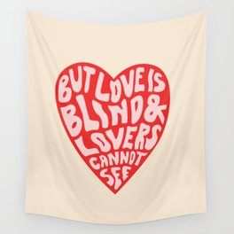 LOVERS CANNOT SEE Wall Tapestry