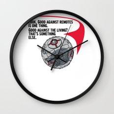 Good against a Living Wall Clock