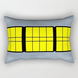 City Windows Rectangular Pillow