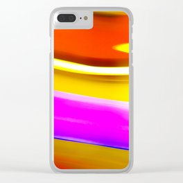 Abstrat colors #2 Clear iPhone Case
