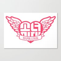 snsd Canvas Prints featuring My Inspiration by cuteunni