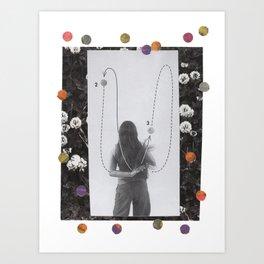 Clovers Art Print
