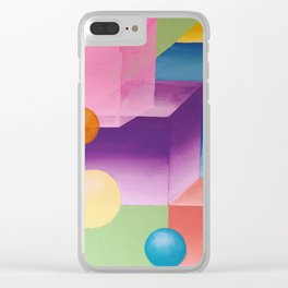 The Universes We Create Clear iPhone Case
