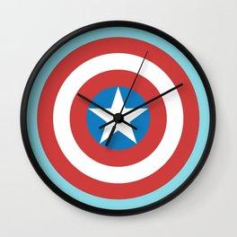 Captain of America Wall Clock