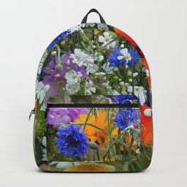 #colorful #Wildflowers in a #summer #meadow #homedecors Backpack