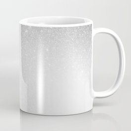 Galaxy Stars Ombre : Black Slate Gray Coffee Mug