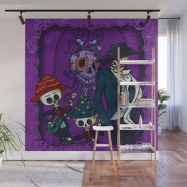 Day of the Dead Celebration (Painting) Wall Mural