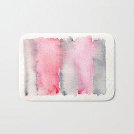 141217 Abstract Watercolor 2 Bath Mat