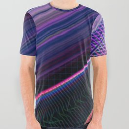 Color Wave ~025~ All Over Graphic Tee