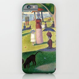 """Georges Seurat """"A Sunday Afternoon on the Island of La Grande Jatte"""" iPhone Case"""