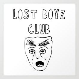 Lost Boyz Club #2 Art Print