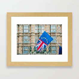 Britain in the EU Framed Art Print