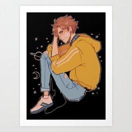 space oikawa Art Print
