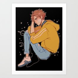 space oikawa Art Print