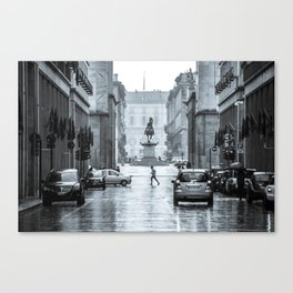 Via Roma | Turin | Italy Canvas Print