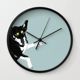 Carly Feelin Antisocial Wall Clock