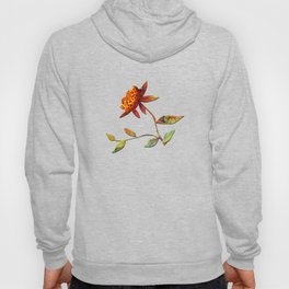 Sunflower Abstract Hoody