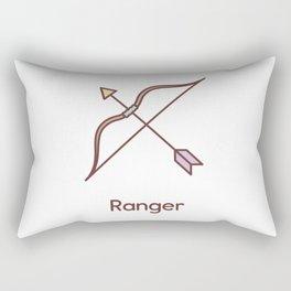 Cute Dungeons and Dragons Ranger class Rectangular Pillow