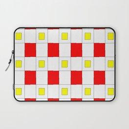 Tribute to mondrian 2- piet,geomtric,geomtrical,abstraction,de  stijl, composition. Laptop Sleeve
