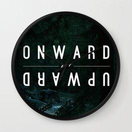 Onward and Upward Wall Clock