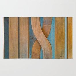 Cross the Wood Rug