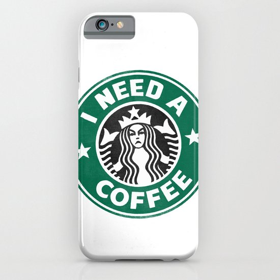 I need a coffee! iPhone & iPod Case