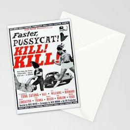 Faster, Pussycat! Kill! Kill! Stationery Cards