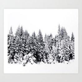 Snow Day Has Come Art Print