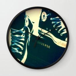 Converse Sneakers Wall Clock