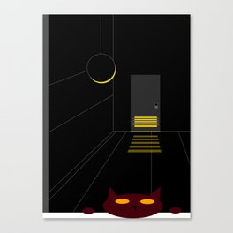 DBM Night Cat Canvas Print