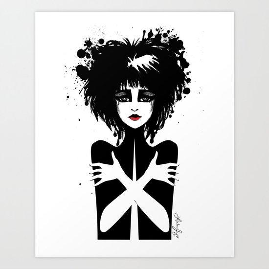 Siouxsie Sioux Art Print