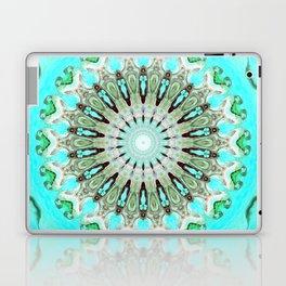 Tropical Floral Mandala Laptop & iPad Skin