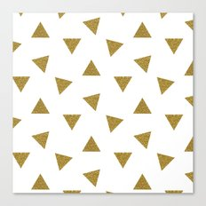 Triangle Party Canvas Print