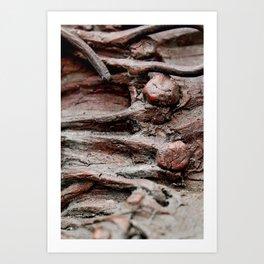 tie loose ends. Art Print