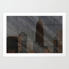 Art-chitecture III Art Print